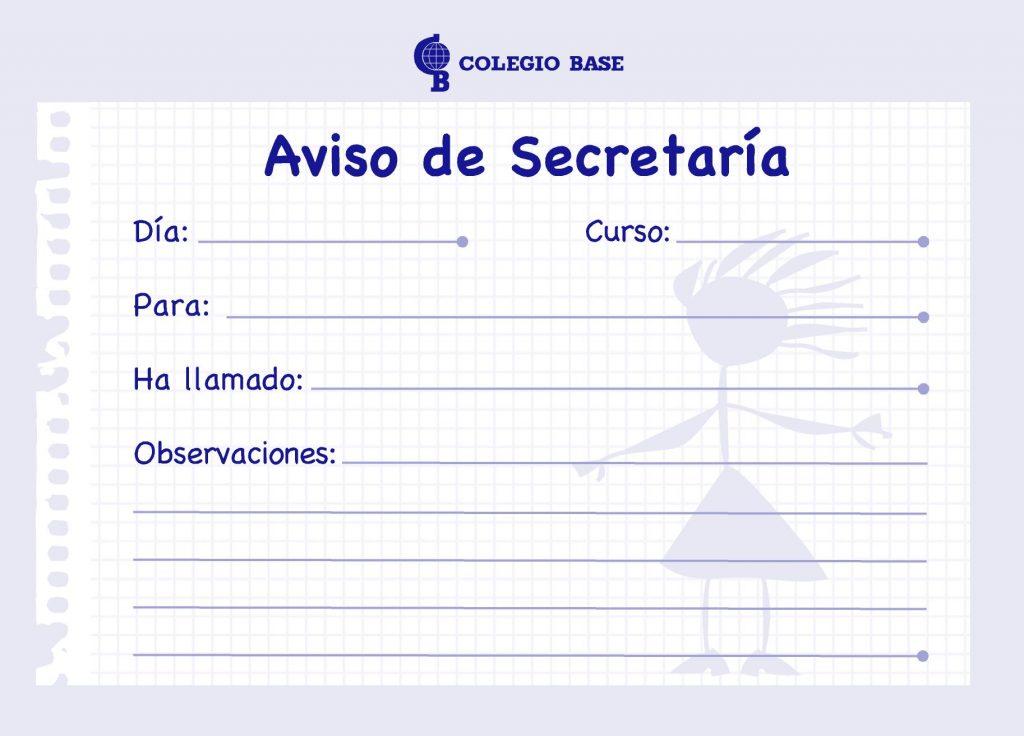Aviso Secretaria