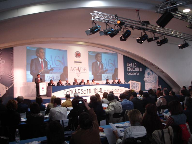 Escenario congreso ACADE-foto
