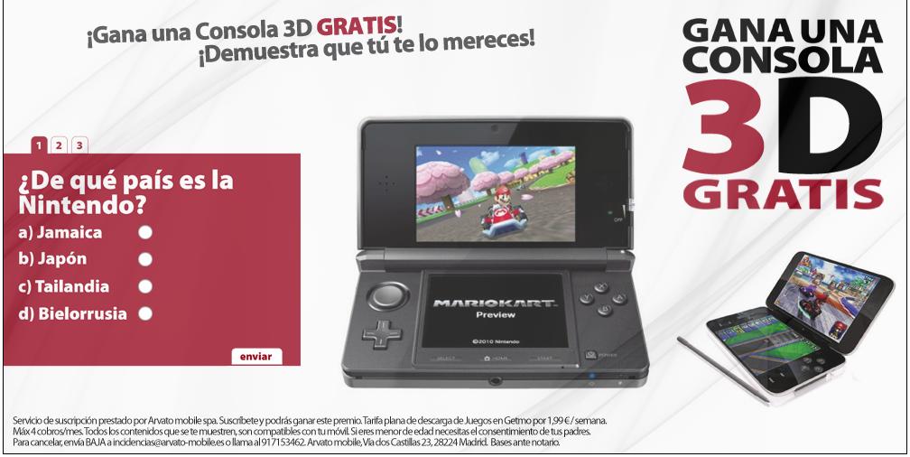 Campaña DS Nintendo 2