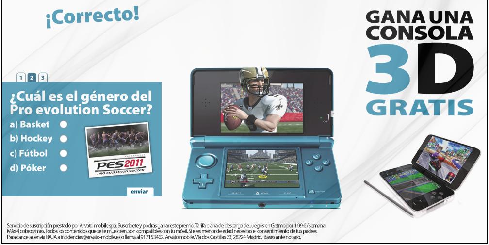 Campaña DS Nintendo 3